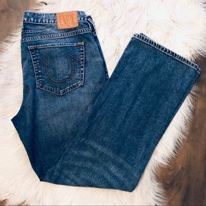 True Religion Loose Relaxed Straight Jeans 30